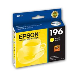 CARTUCHO EPSON ORIGINAL 196 AMARILLO
