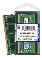 MEMORIA RAM SO DIMM DDR4 8GB 2666MHZ KINGSTON - KVR26S19S6/8