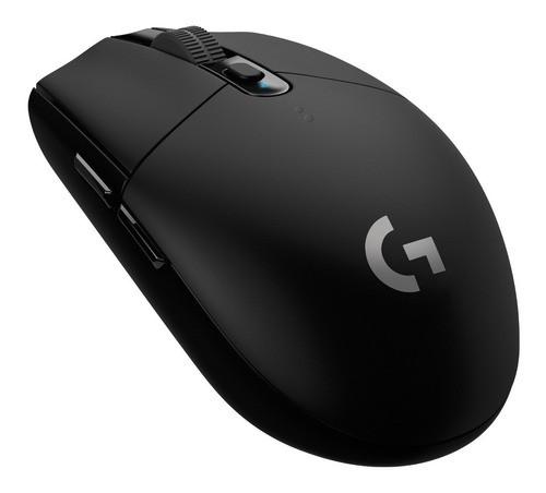 MOUSE GAMER LOGITECH G305 LIGHTSPEED WIRELESS USB 2000DPI BLACK (G305~910-005281)