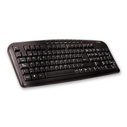 TECLADO MULTIMEDIA NOGA 78011 USB DISEÑO ECONOMICO (N) ***