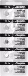 PILA ENERGIZER 377/376 PRECIO POR BLISTER X 5 U.