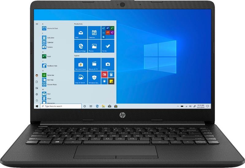 "NOTEBOOK HP 14"" ATHLON 3050U, 4GB DDR4, 128GB SSD, BT, WINDOWS 10, 1366X768, JET BLACK, 14-DK1003DX"