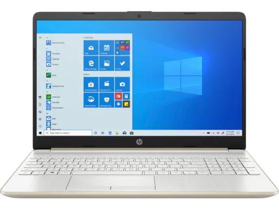 NOTEBOOK HP I5-1035G1 1TB 16GB 15.6 (1366X768) TOUCHSCREEN BT WIN10 WEBCAM PALE GOLD