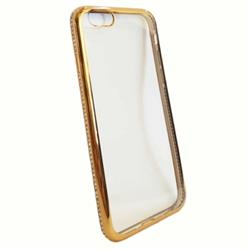 FUNDA STRASS IPHONE 6 DORADA