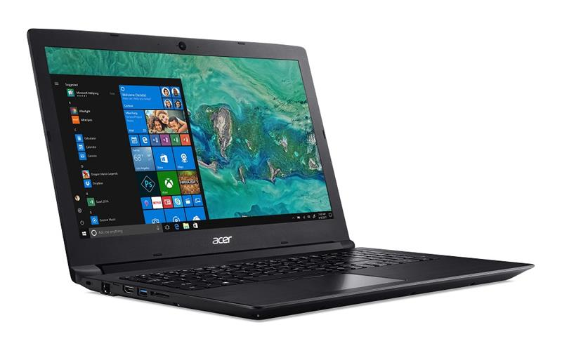 NOTEBOOK ACER ASPIRE 3 A315-53-55Y1 Core™ i5-8250U 1.6GHz 1TB+16GB Optane 4GB 15.6 (1366x768) BT WI