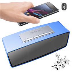 PARLANTE PORTATIL BLUETOOTH SY-S815 MICRO SD AUX USB FM (FUNCIONA SOLO ENCHUFADO)