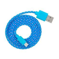 CABLE USB A MICRO REFORZADO (COLORES)