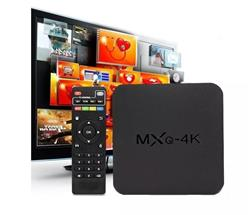 CONVERSOR SMART TV BOX ZENEI MXQ-4KB ANDROID 8.1, 1GB DDR3, 8GB, WIFI, RJ45