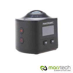 CAMARA DEPORTIVA 360 PANORAMICA VR 360 LCD ULTRA HD WIFI