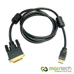 CABLE HDMI A DVI 24+1 NETMAK NM-C02