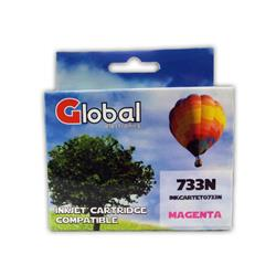 CARTUCHO EPSON ALT T73 MAGENTA GLOBAL