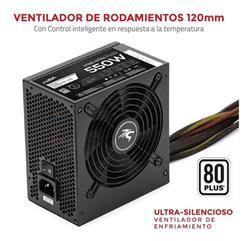 FUENTE SENTEY 550W SPD550 80 PLUS