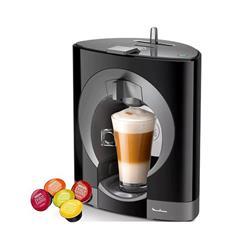 CAFETERA MOULINEX DOLCE GUSTO OBLO NEGRA PV1108 15 BARES 0.8 LTS 1340W