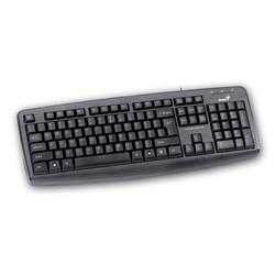 TECLADO GENIUS KB-110X BLACK PS2