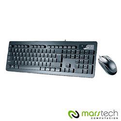 TECLADO Y MOUSE GENIUS SLIMSTAR C130 BLACK USB