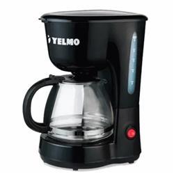 CAFETERA YELMO CA-7103 6 POCILLOS 0.5LTS ANTI GOTEO 650W