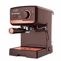 CAFETERA EXPRESS EXPRESSO Y CAPUCCINO YELMO CE-5107 2 POCILLOS 19 BARES 1200W