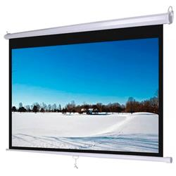 PANTALLA PARA PROYECTOR 100 PULGADAS MANUAL 16:9 PARED