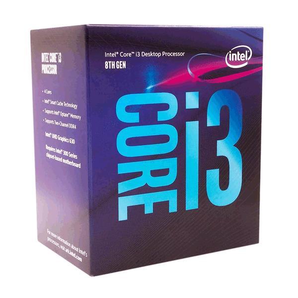 MICRO INTEL I3 8100 3.60GHZ QUAD CORE 8VA GENERACION 1151