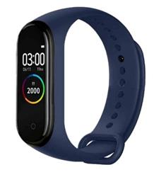 SMARTWATCH SMARTBAND M4 AZUL BLUETOOTH BAND WATCH CELULAR ANDROID IPHONE