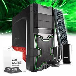 PC ARMADA A6 9500 7MA GEN 8 NUCLEOS 4GB DDR4 1TB MB A320 MSI/GIGABYTE/ASROCK VIDEO R5