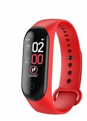 SMARTWATCH SMARTBAND M4 ROJO BLUETOOTH BAND WATCH CELULAR ANDROID IPHONE