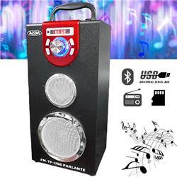 PARLANTE BLUETOOTH AZZIA K15 VISOR FM USB MICRO SD