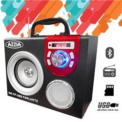 PARLANTE BLUETOOTH AZZIA K13 FM USB MICRO USB