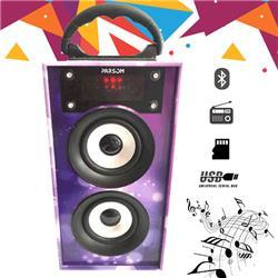 PARLANTE BLUETOOTH YP-706 6W FM USB SD