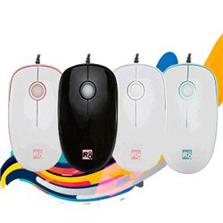 MOUSE OPTICO USB R8 M1609 4D 1600 DPI