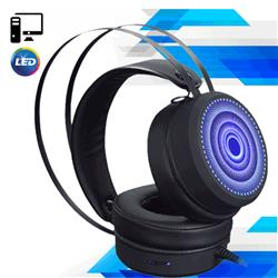 AURICULAR HEADSET GAMER R8 G7 PARA PC CON LUCES LED