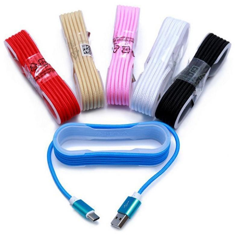 CABLE MICRO USB MALLADO IBEK CB-608
