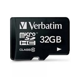 MICRO SD 32GB VERBATIM CL10