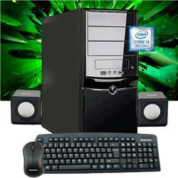 PC ARMADA INTEL GAMER I3 8100 8VA GEN 8GB DDR4 1TB H310 MSI/GIGABYTE/ASROCK