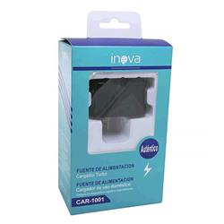CARGADOR TURBO INOVA CAR-1001 15W POTENCIA CON CABLE