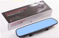 CAMARA AUTO DASHCAM ESPEJO RETROVISOR 4.3