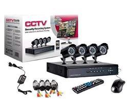 SISTEMA DE SEGURIDAD DVR +4 CAM CCTV
