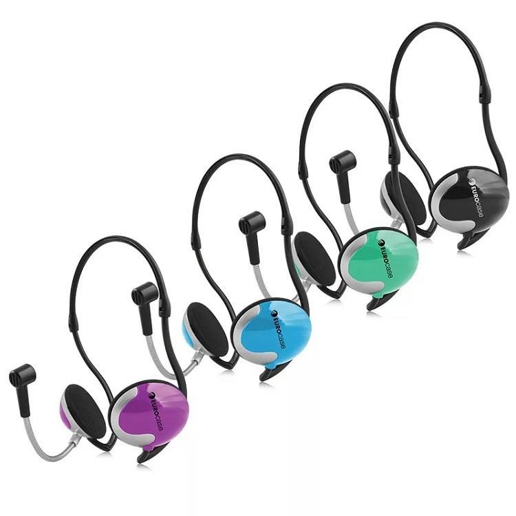 Auricular Con Microfono Para Pc Eurocase Euhp-005 Plug 3.5