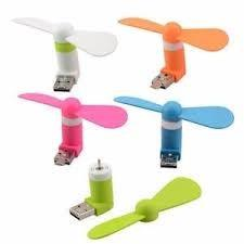 MINI VENTILADOR PARA CELULAR MICRO USB