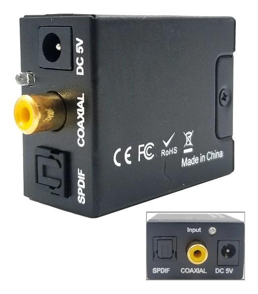 CONVERSOR DE HDMI A RCA ADAPTADOR TV TUBO FULL 1080P NETMAK NM-HD4