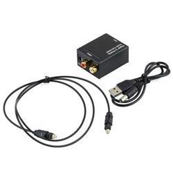 CONVERSOR AUDIO DIGITAL OPTICO TOSLINK A RCA ANALOGICO NETMAK NM-RCA