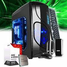 PC ARMADA AMD A10 9700 7MA GEN 10 NUCLEOS 4GB DDR4 SSD 128GB MB GIGABYTE A320 VIDEO R7