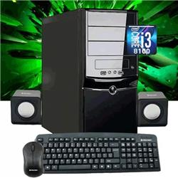 PC ARMADA INTEL GAMER I3 8100 8VA GEN 4GB DDR4 SSD 120GB MB ASROCK H310