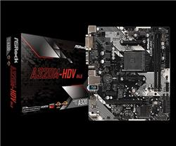 MB ASROCK A320M-HDV 3 R3.0 AM4 DDR4