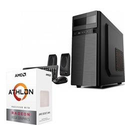 PC ARMADA AMD ATHLON 200GE 4GB DDR4 SSD 120GB MB MSI A320 PRO-M2 5 NUCLEOS VEGA 3 GRAPHICS