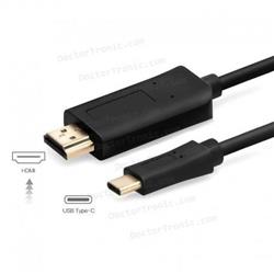 CABLE TIPO C A HDMI 1.8MTS NM-TCH2 PROYECTA CELULAR NOTEBOOK A MONITOR PROYECTOR CON HDMI NM-TCH2