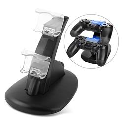 BASE CARGADORA ZENEI DOBLE PARA JOYSTICK PS4