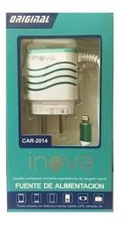 CARGADOR DE PARED INOVA 3.1A IPHONE CAR-2004