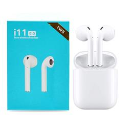 Auricular in ear Bluetooth I11s Tws Inalambrico BLANCO/NEGRO