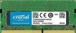 MEMORIA SO DIMM DDR4 4GB CRUCIAL 2666MHZ